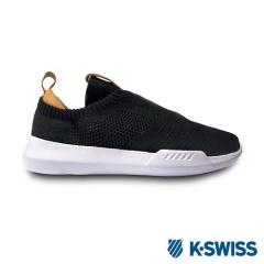 K-Swiss Gen-K Icon Knit休閒運動鞋-男-黑/咖啡