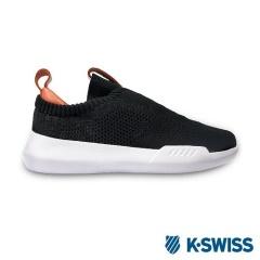 K-Swiss Gen-K Icon Knit休閒運動鞋-女-黑/珊瑚紅