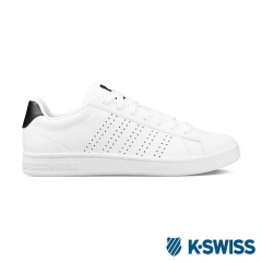 K-Swiss Court Casper休閒運動鞋-男-白/黑