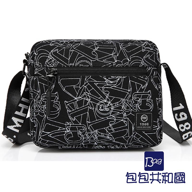 包包共和国-单肩包斜背包韩版潮休闲小包原宿风(B9002)