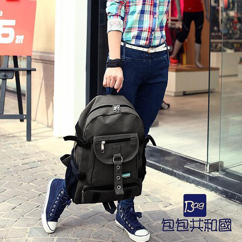 包包共和国-男女学生韩版时尚休闲包-B9046