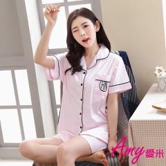 AMY愛米-甜美可愛寬鬆二件式居家服(AD091)