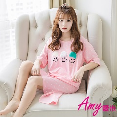 AMY愛米-甜美可愛短袖純居家服(AD101)
