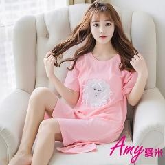 AMY愛米-甜美可愛短袖睡衣居家服(AD104)