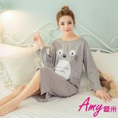 AMY愛米-經典卡通款長袖連身裙睡衣(AD127)
