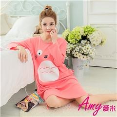 AMY愛米-經典卡通款長袖連身裙睡衣(AD131)