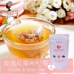 午茶夫人─玫瑰紅棗枸杞茶 10入/袋