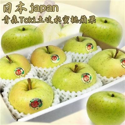 坤田水果 日本青森Toki土岐水蜜桃蘋果(6箱)單箱2斤6顆