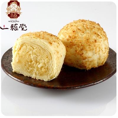 【一福堂】5盒香妃酥(蛋奶素)(12入/盒)