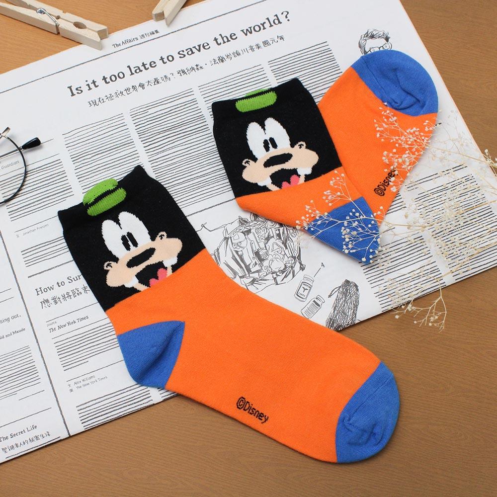 DISNEY 迪士尼彩色满版立体耳朵造型中筒袜-高飞
