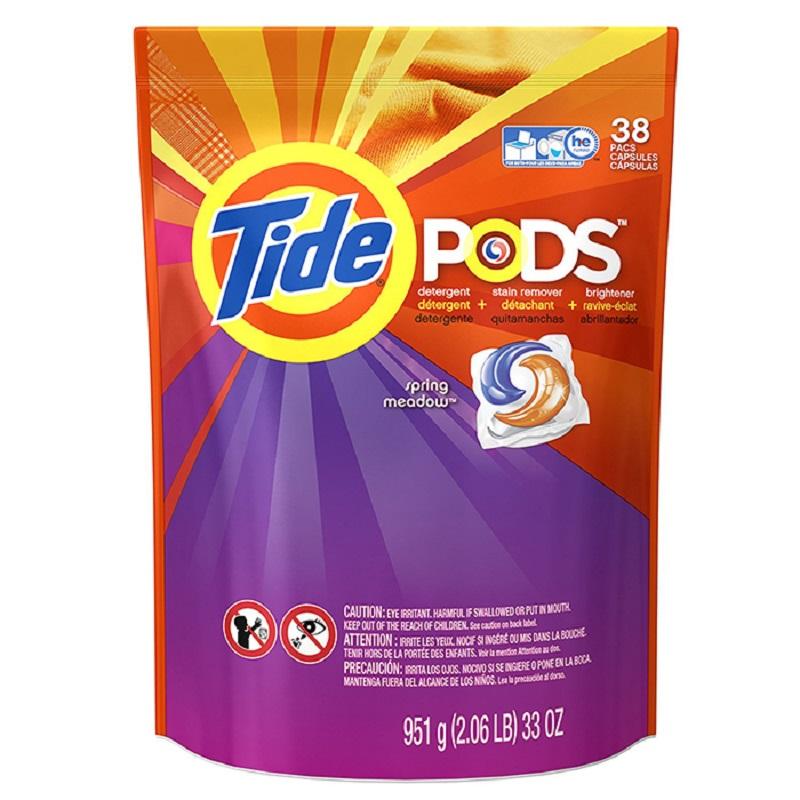 美国原装进口Tide太渍 3合1洗衣凝胶球