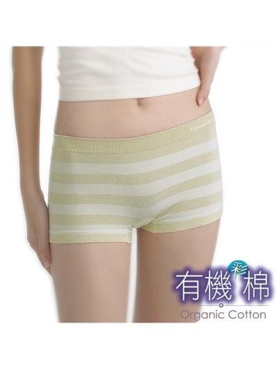 蒂巴蕾-有機彩棉平口褲