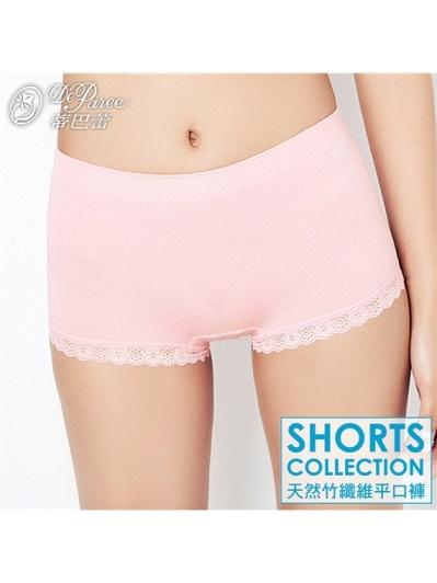 蒂巴蕾-Shorts collection 竹纖維蕾絲中腰褲