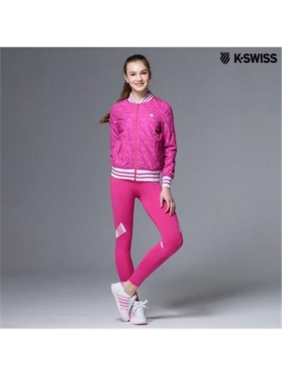 K-Swiss Capri tight運動內搭褲-女-瑰紅