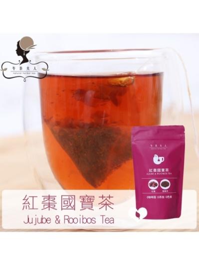 午茶夫人─紅棗國寶茶 12入/袋