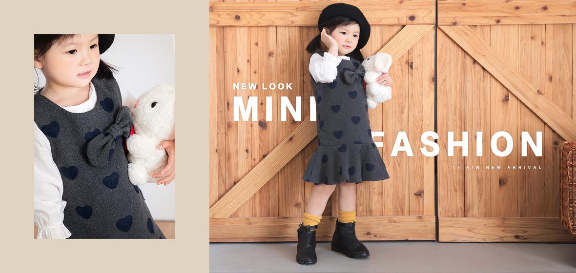 秋冬童裝,可愛長版上衣,洋裝